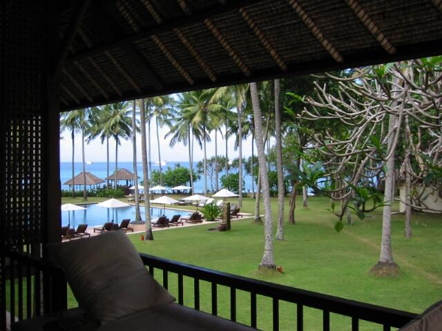 バリ島チャンディダサのホテル「アリラマンギス」